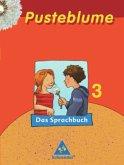 Pusteblume 3. Sprachbuch. Mitte / Nord. RSR 2006