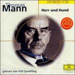 Herr und Hund, 1 Audio-CD - Mann, Thomas