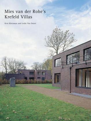 mies van der rohe the krefeld villas von kent kleinman. Black Bedroom Furniture Sets. Home Design Ideas
