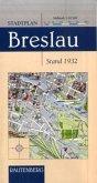 Stadtplan Breslau, Stand 1932