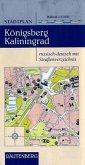 Stadtplan Königsberg/Kaliningrad