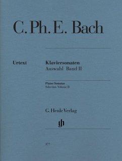 Klaviersonaten, Auswahl 02 - Bach, Carl Philipp Emanuel - Klaviersonaten, Auswahl, Band II