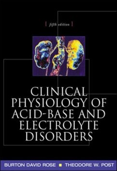 Clinical Physiology of Acid-Base and Electrolyte Disorders - Rose, Burton David; Post, Theodore
