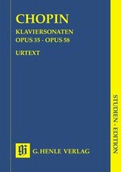 Klaviersonaten op.35 und op.58, Studien-Edition