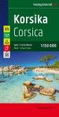 Freytag & Berndt Auto + Freizeitkarte Korsika, Top 10 Tips, Autokarte 1:150.000; Corsica