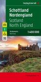 Freytag & Berndt Autokarte Schottland, Nordengland / Scotland, North England