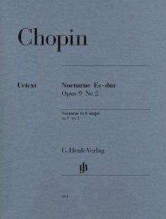 Nocturne Es-Dur op.9,2, Klavier