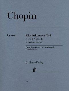 Klavierkonzert Nr. 1 e-moll Opus 11 - Chopin, Frédéric - Klavierkonzert Nr. 1 e-moll op. 11