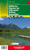 Freytag & Berndt Wander-, Rad- und Freizeitkarte Süpdkärnten, Klopeiner See, Völkermarkt, Bleiburg, Karawanken