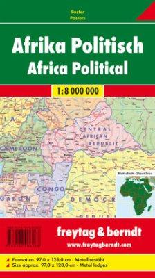 Freytag & Berndt Poster Afrika, physisch-politi...
