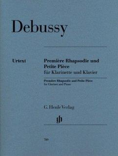 Première Rhapsodie und Petite Pièce, Klarinette...
