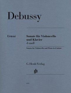 Sonate für Violoncello und Klavier, Partitur