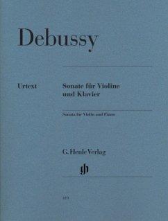 Sonate für Violine und Klavier, Partitur