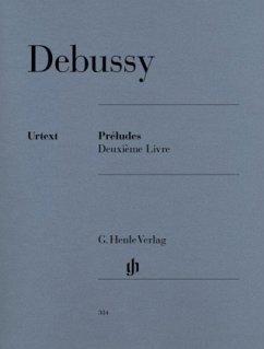 Préludes, 2e livre, Klavier