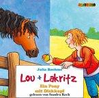 Lou und Lakritz - Ein Pony mit Dickkopf, 2 Audio-CDs