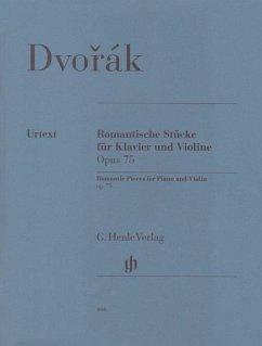 Romantische Stücke für Klavier und Violine op.75