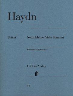 Neun kleine frühe Klaviersonaten Hob. XVI:1, 3, 4, 7-10, G1, D1