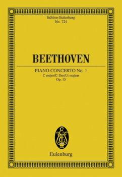 Klavierkonzert Nr. 1 C-Dur Op.15, Partitur