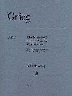 Klavierkonzert a-Moll op.16, Klavierauszug - Grieg, Edvard