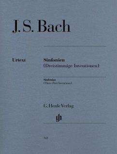 Sinfonien BWV 787-801, Klavier