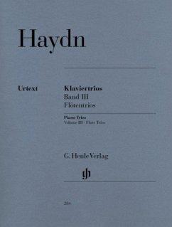 Klaviertrios, Klavier, Flöte (oder Violine) und Violoncello
