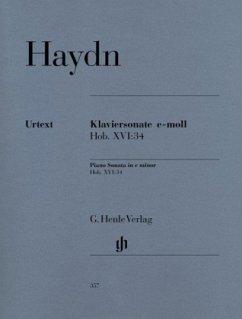 Klaviersonate e-Moll Hob. XVI:34