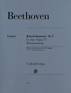 Konzert für Klavier und Orchester Nr. 5 Es-dur op. 73 - Beethoven, Ludwig van - Klavierkonzert Nr. 5 Es-dur op. 73