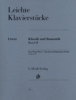 Leichte Klavierstücke, Klassik und Romantik