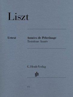 Annees de Pelerinage, Troisieme Annee, Klavier