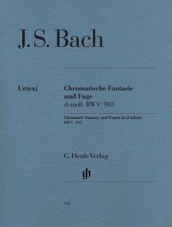 Chromatische Fantasie und Fuge d-Moll BWV 903 und Variante zur Chromatischen Fantasie d-Moll BWV 903a, Klavier