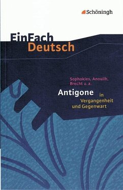 Sophokles. Antigone. Mit Materialien