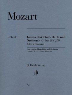Konzert für Flöte, Harfe und Orchester C-Dur KV 299 (297c), Klavierauszug
