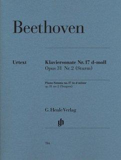 Klaviersonate (Sturmsonate) d-Moll op.31,2, revidierte Neuausgabe