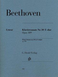 Klaviersonate Nr. 30 E-dur op. 109 - Beethoven, Ludwig van - Klaviersonate Nr. 30 E-dur op. 109