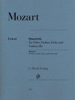 Flötenquartette für Flöte, Violine, Viola und Violoncello