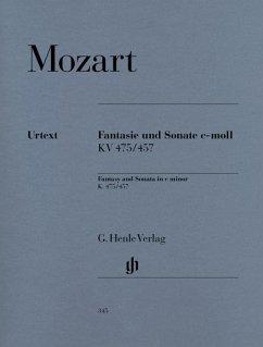 Fantasie und Sonate c-moll KV 475/457 - Mozart, Wolfgang Amadeus - Fantasie und Sonate c-moll KV 475/457