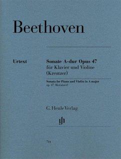Sonate für Klavier und Violine A-Dur op.47 (Kreutzer-Sonate)
