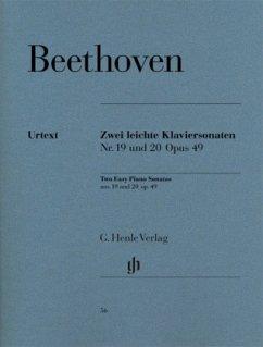 2 Leichte Klaviersonaten g-Moll op.49,1 und G-Dur op.49,2