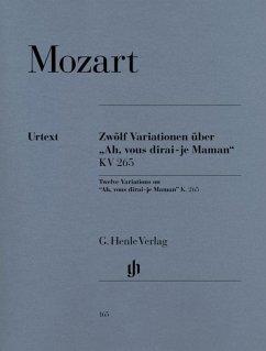 12 Variationen über ´Ah, vous dirai-je Maman´ KV 265 (300e), Klavier