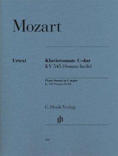 Klaviersonate [Facile] C-dur KV 545 - Mozart, Wolfgang Amadeus - Klaviersonate C-dur KV 545 (Facile)