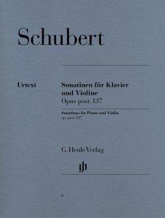 Sonatinen für Klavier und Violine op. post. 137