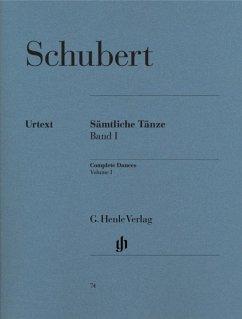 Sämtliche Tänze Band I - Schubert, Franz - Sämtliche Tänze, Band I