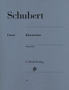 Klaviertrios - Schubert, Franz - Klaviertrios
