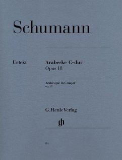 Arabeske C-Dur op.18, Klavier