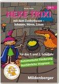 Hexe Trixi mit dem Zauberbesen, Schauen, Hören, Lesen, 1 CD-ROM (Homeversion). Tl.1, CD-ROM