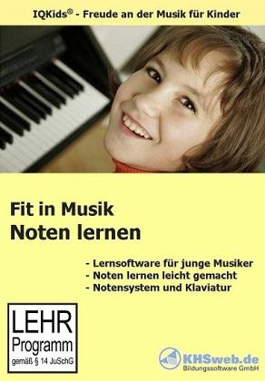 Fit in Musik: Notenlernen, 1 CD-ROM