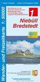 Wander- und Freizeitkarte Niebüll-Bredstedt