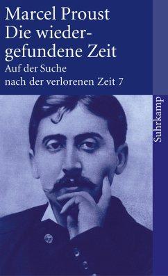 Die wiedergefundene Zeit - Proust, Marcel