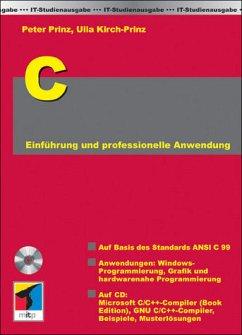 C für PCs, m. CD-ROM - Prinz, Peter; Kirch-Prinz, Ulla
