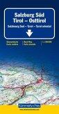 Kümmerly+Frey Karte Salzburg Süd, Tirol, Osttirol Strassenkarte; Salzbourg Sud, Tyrol, Tyrol oriental; Salzburg, South T